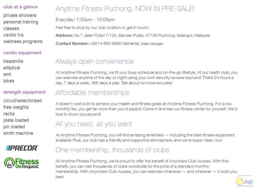 Anytime Fitness Malaysia -  U5065 U8eab U4e0e U745c U4f3d -  U65f6 U5c1a U751f U6d3b -  U8bba U575b