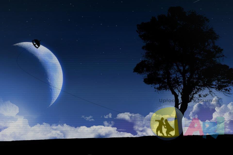 [2013年1月17日] 纸月亮