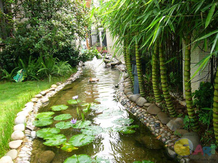 小庭院水景设计 - 家居生活