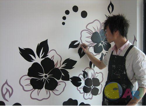 手绘墙画制作方法及步骤