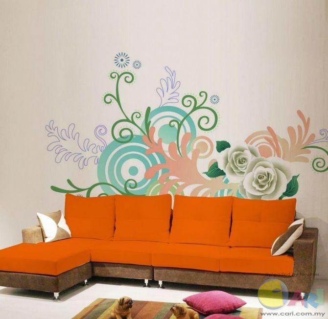手绘墙画制作方法及步骤 家居小窍门