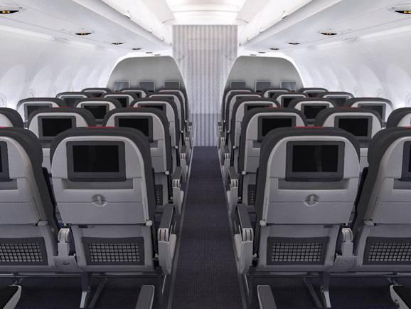 未来飞机的座位将会越来越窄了!