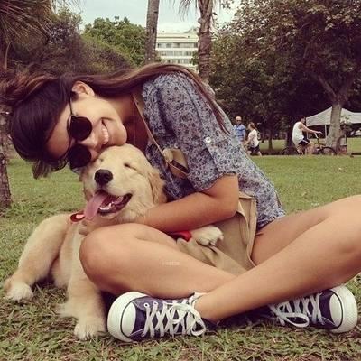 跟有爱狗的女孩交往,这15件事你们发生过吗