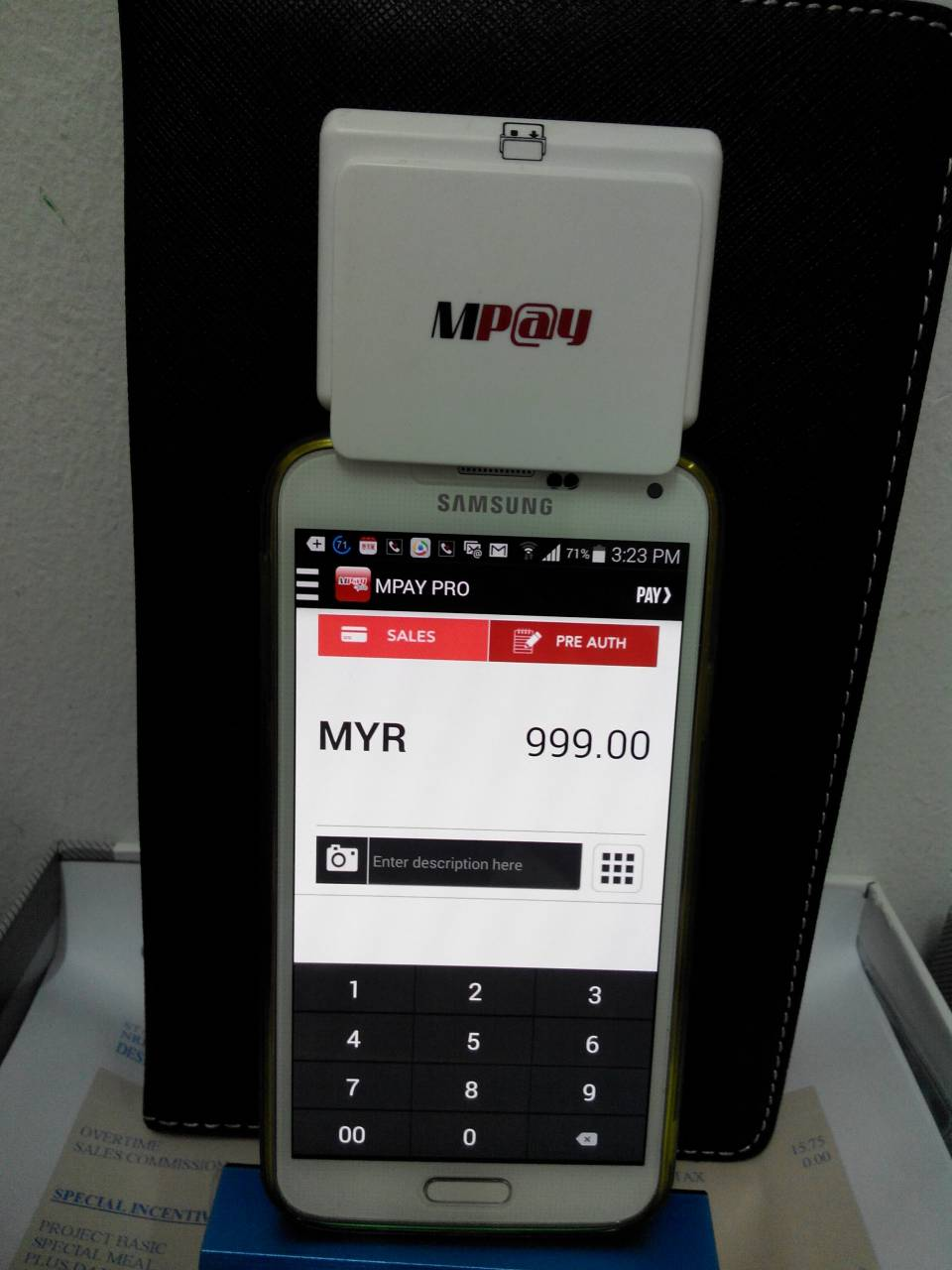 rent credit card machine