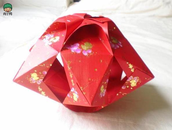 手工灯笼制作方法 儿童红包灯笼DIY教程图解