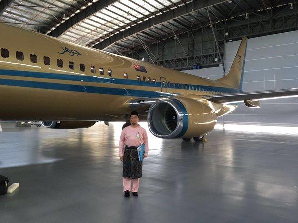 Pesawat Baharu Sultan Johor
