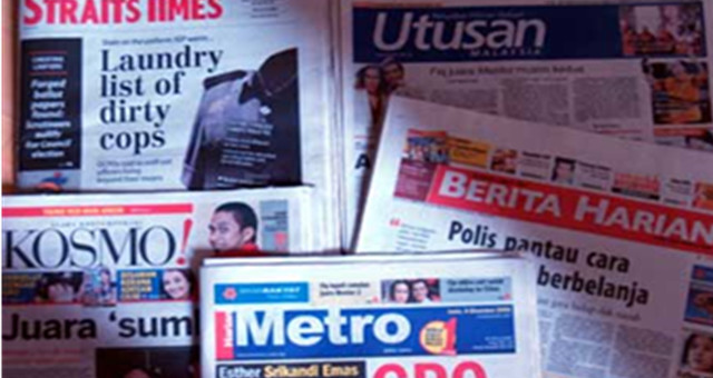 media analysis in malaysia newspapers