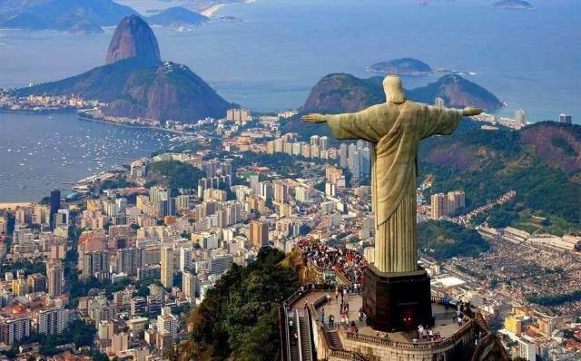 巴西耶稣像 壁纸