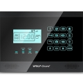 NEW GSM+PSTN alarm system with LCD display and touch keypad