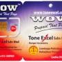 Tone Excel Rangkaian 1 Malaysia