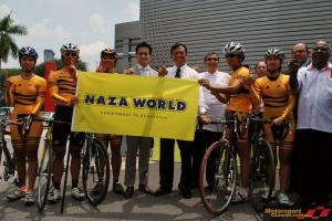 NAZA and Group of Companies sponsor 1Malaysia Track cycling event