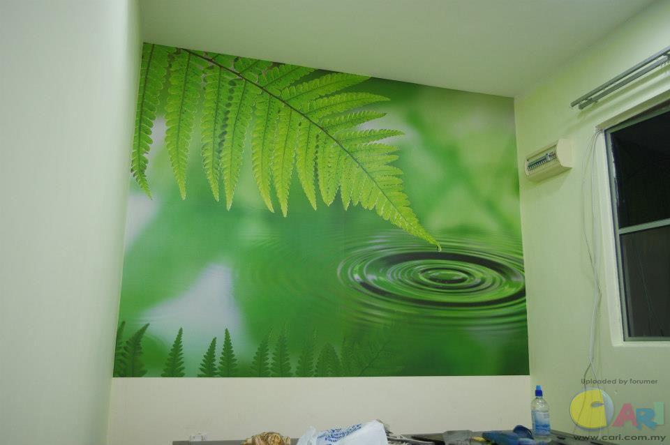 kertas dinding border wallpaper perumahan shop online