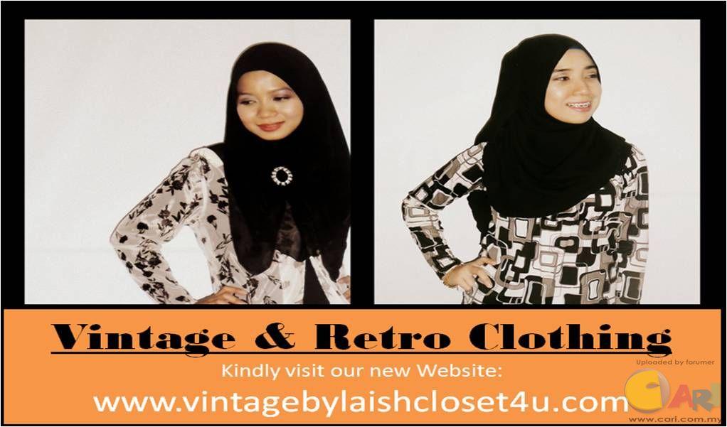 Butik menjual pakaian vintage retro wanita online pakaian shop online classifieds forum Retro style fashion for muslimah