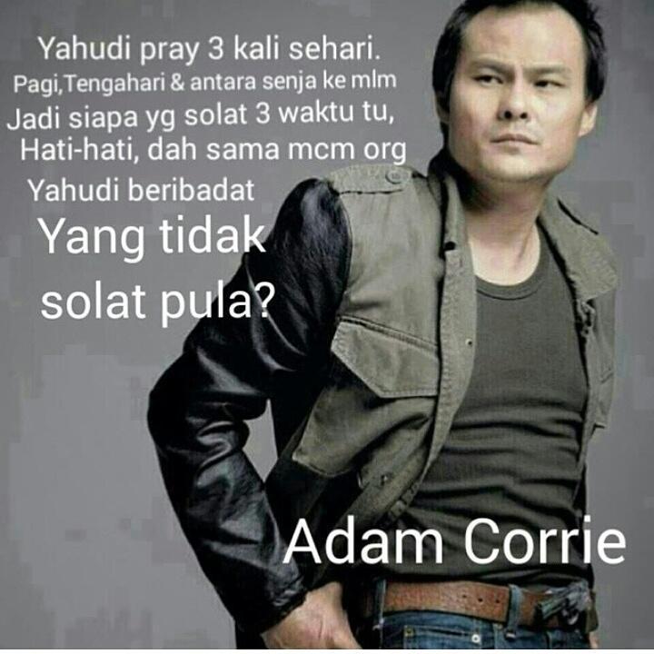 Adam Corie Kata......
