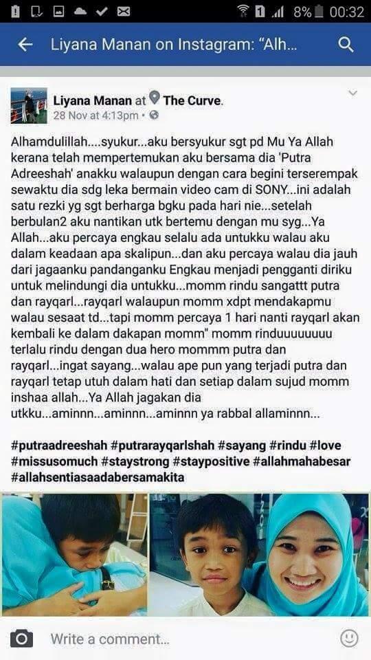Hanez Suraya dan Romie Tak Benarkan Liyana Manan Jumpa Anak-Anak?
