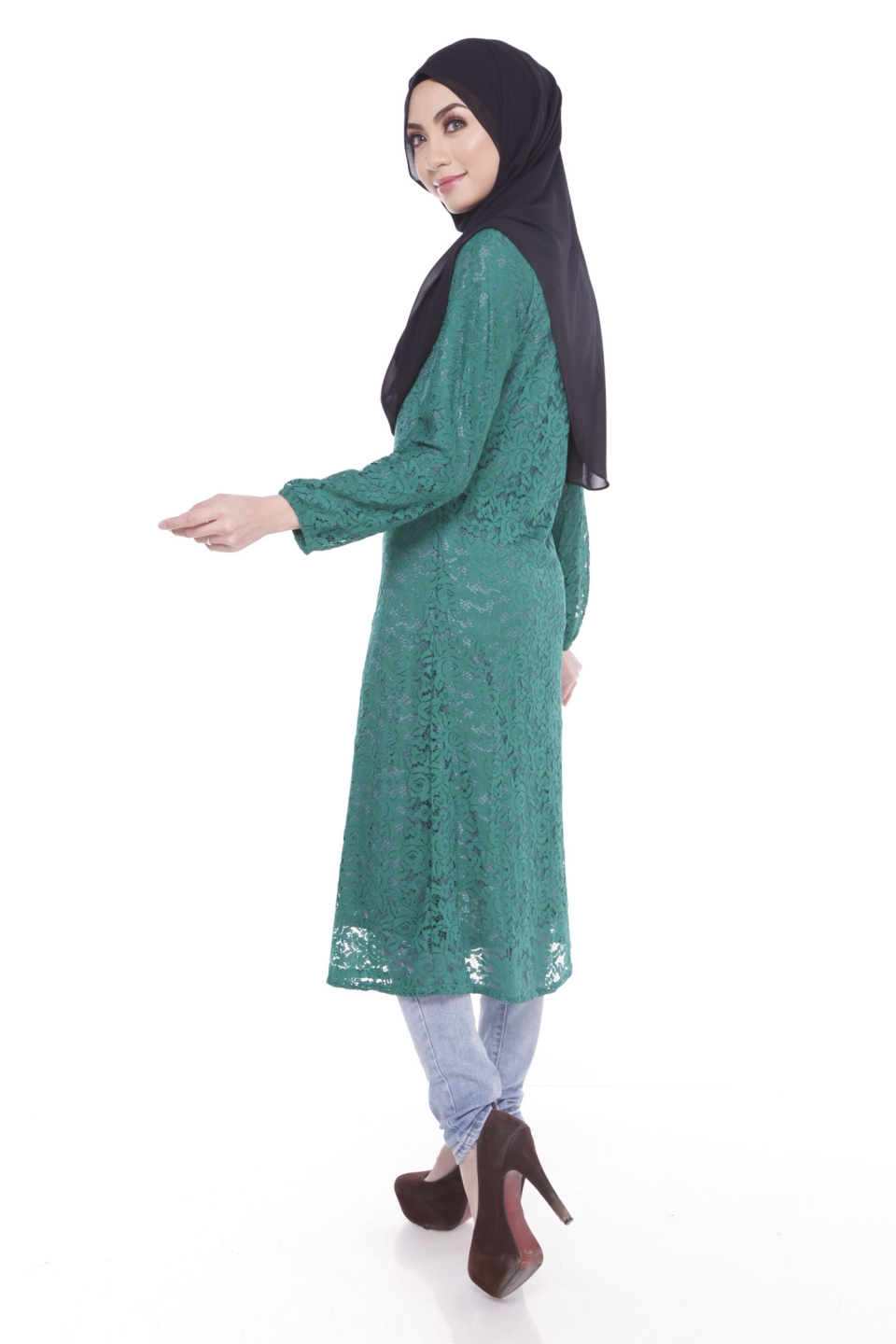 Blouse Wholesale Malaysia - Long Blouse With Pants