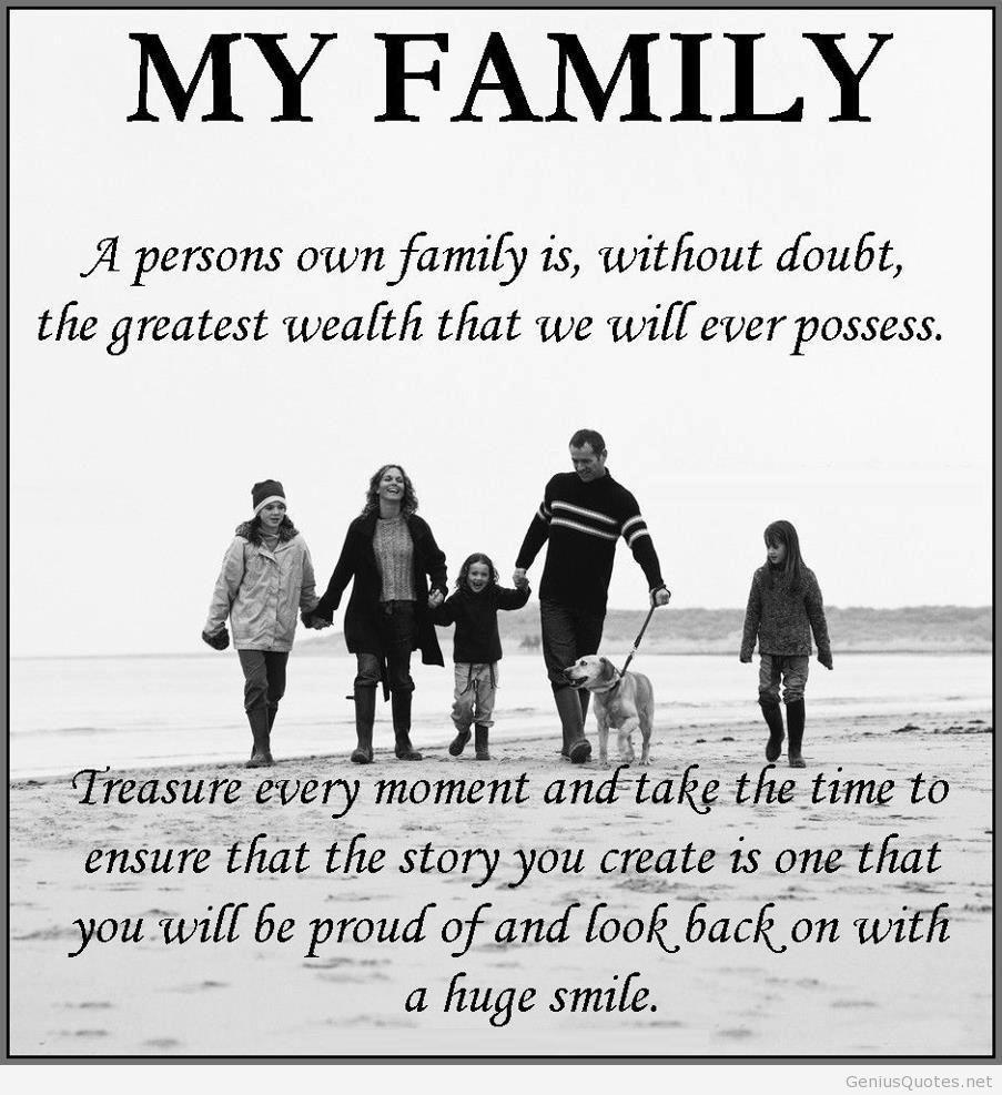Relationships Between Family Members Essay