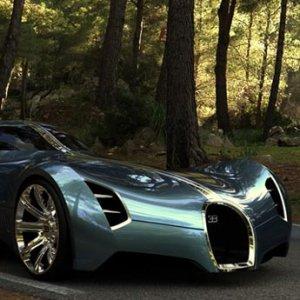 Bugatti Aerolithe 2025