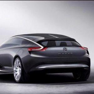 Konsep Vauxhall Monza Dengan Pintu Sayap Kondor