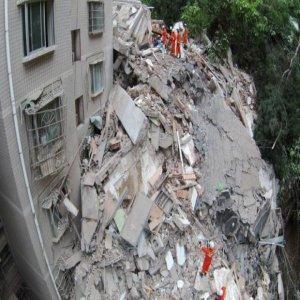 Apartment Sembilan Tingkat Di China Runtuh Dalam Beberapa Saat