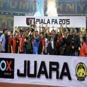 Piala FA : Lion Xll Muncul Juara, Tewaskan Kelantan 3-1