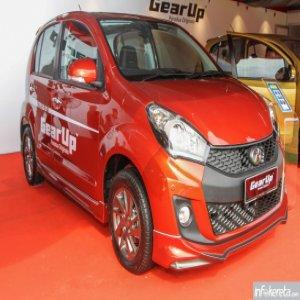 Perodua memperkenalkan kit badan GearUp untuk Myvi