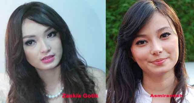 6 Selebriti Indonesia muka hampir sama