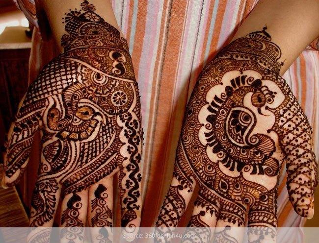 10 Desain Inai Mehndi Punjabi