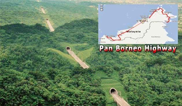 Lebuh Raya Pan Borneo Tak Dikenakan Tol
