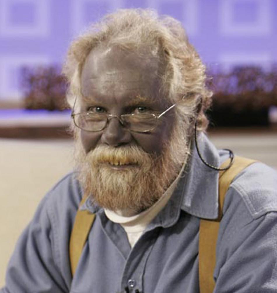 Paul Lelaki Berwajah Biru