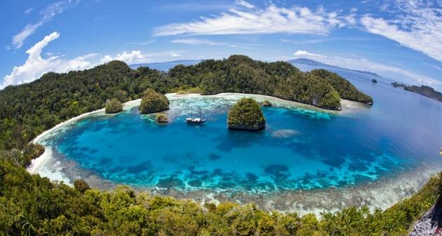 Terokai Lokasi Eksotik Di Papua, Pulau Raja Ampat