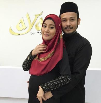 Diam-Diam Rupanya Yana Samsudin Sudah Hamil 7 Bulan