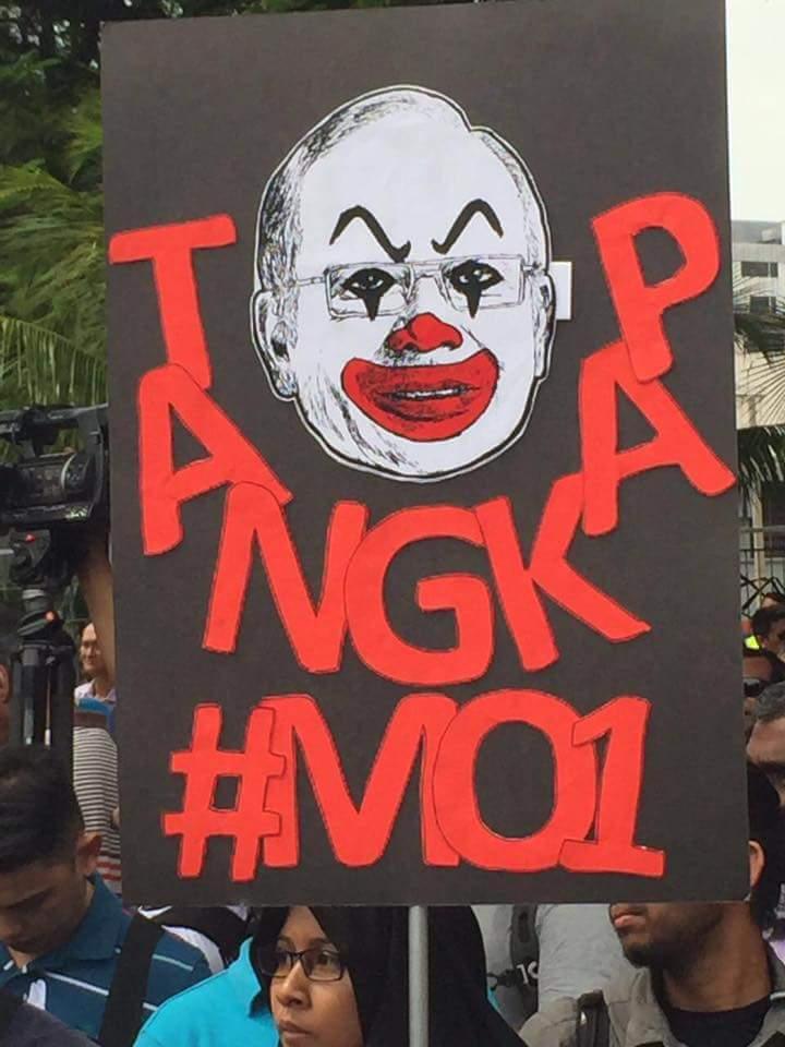 Image result for Gambar Demo tangkap MO1