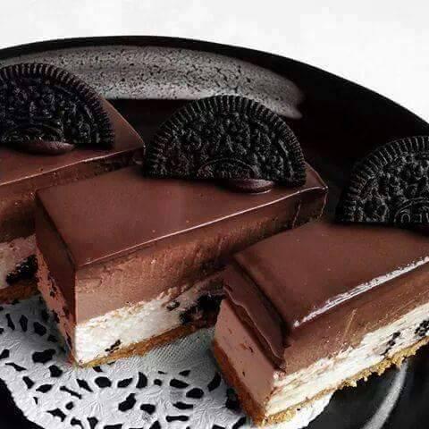 Resepi Kek Cheese Nutella Oreo Tanpa Perlu Dibakar ...
