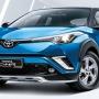 Toyota C-HR推出小升级版,内外观配备小幅提升售价维持不变
