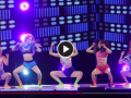韩女团台上跳舞 衣服掀到头、大露胸罩