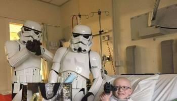没想到字条的力量如此大  成功助9岁男童抗癌