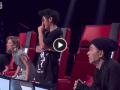 【新马决战好声】演唱陈奕迅《你给我听好》 4位导师都转身抢人了!