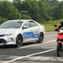 为减低摩托骑士死亡率  东盟首试车侧盲点系统