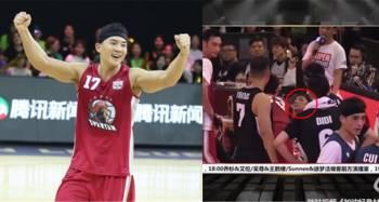 """队友抢篮板""""一个肘击""""  刘耕宏眼角喷血送医"""