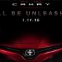 原厂发布预告 全新一代Toyota Camry确定11月1日面市