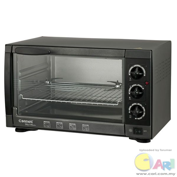 Product: Electric Oven Model No: CEO-E43BL  Specifications:  Capacity 43L Adjustable thermostat from ...