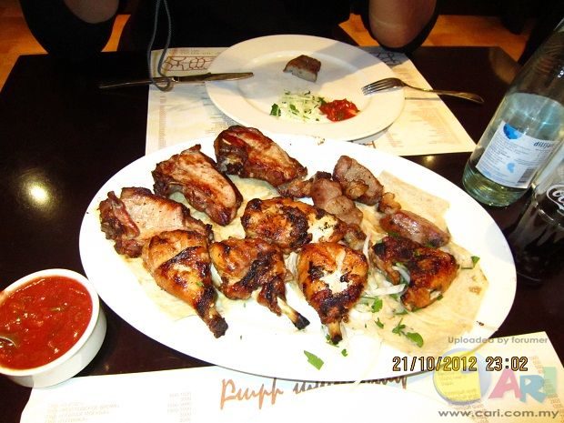 乔治亚的Kebab 猪羊鸡烤肉