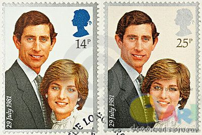 英国邮票-戴安娜王妃,查尔斯王子.jpg