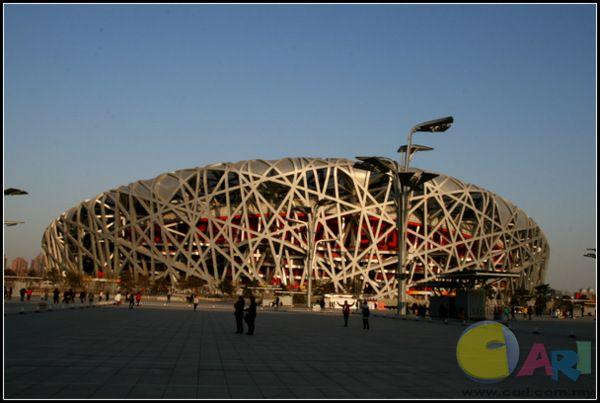 奥运鸟巢  Beijing National Stadium (Bird's Nest/Olympic Stadium)