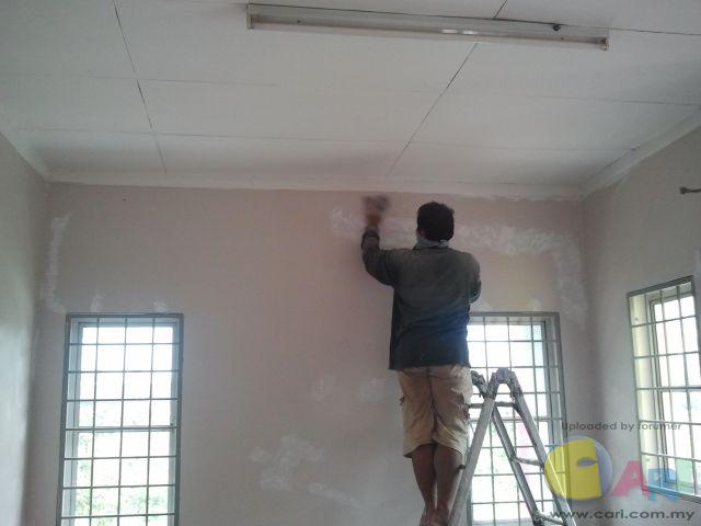 油漆(磨墙壁)