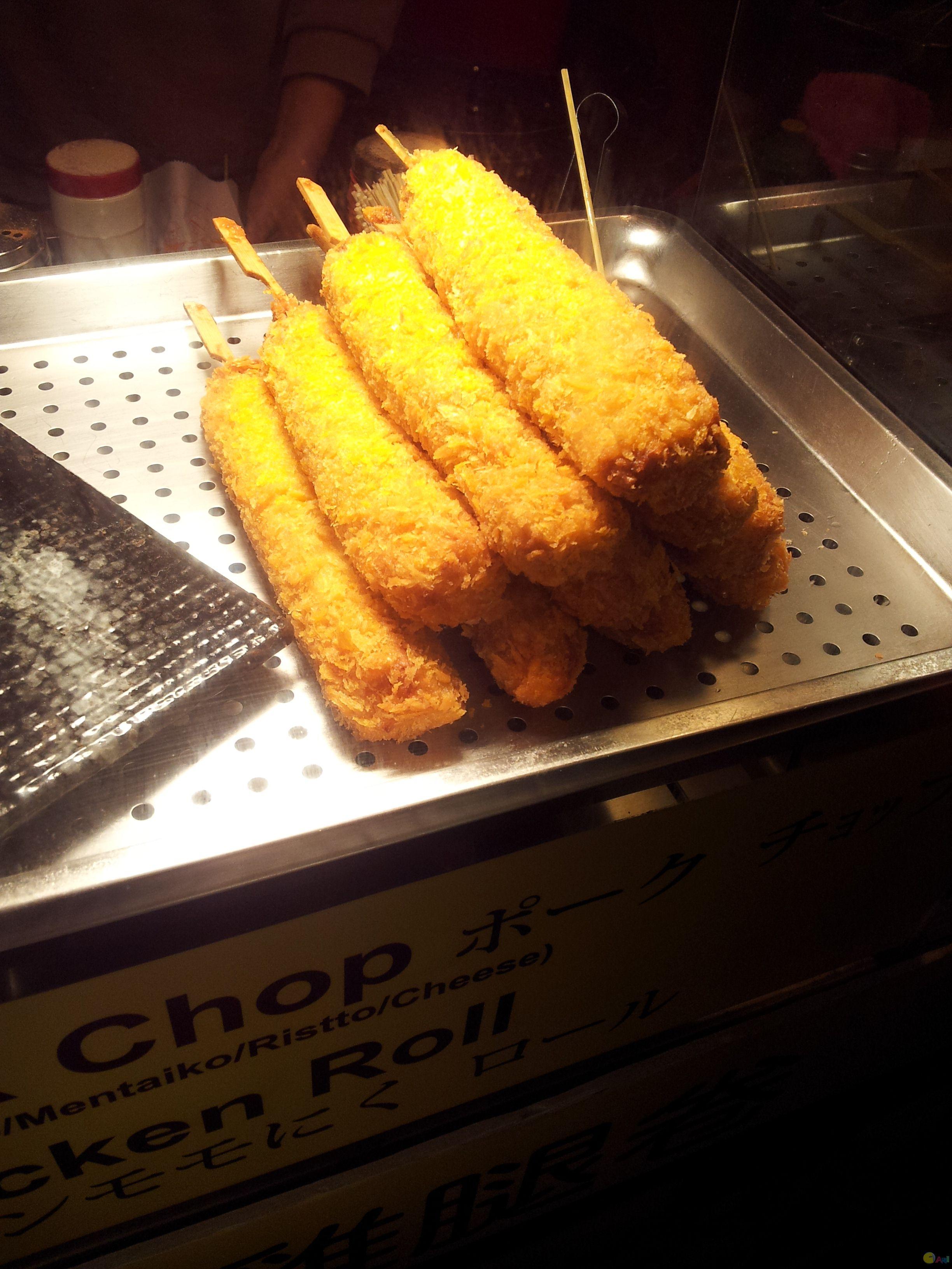 炸鸡肉香肠