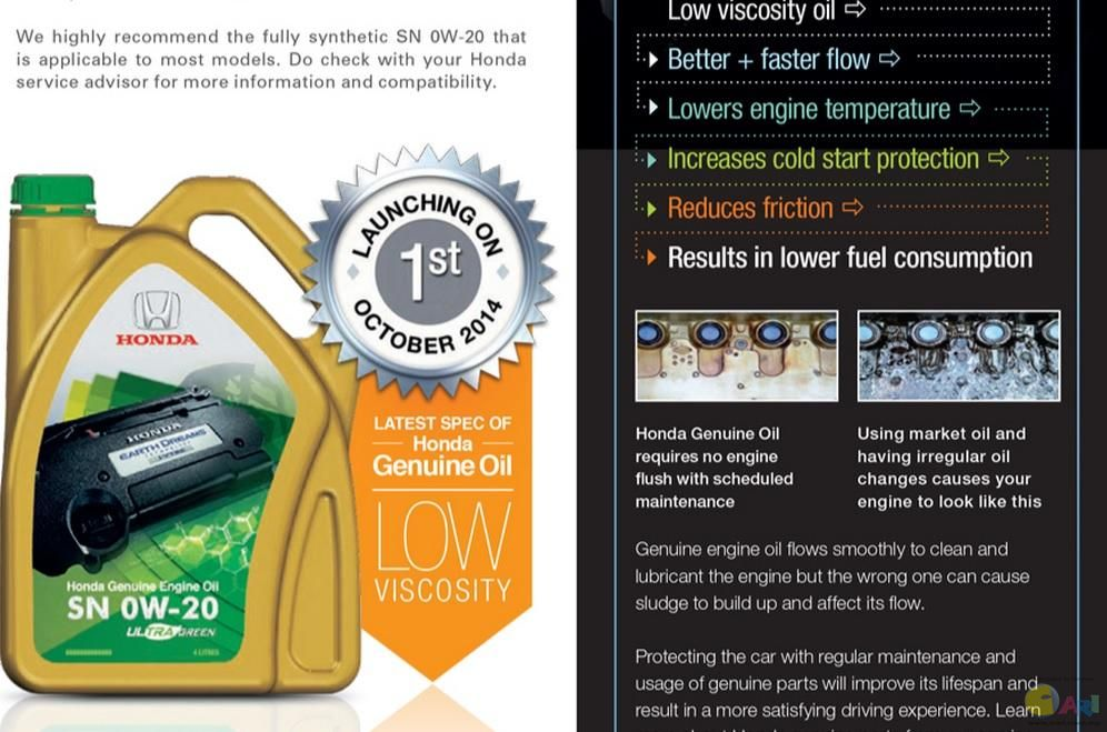 Honda introduces an Ultra Green Motor Oil | CleanMPG