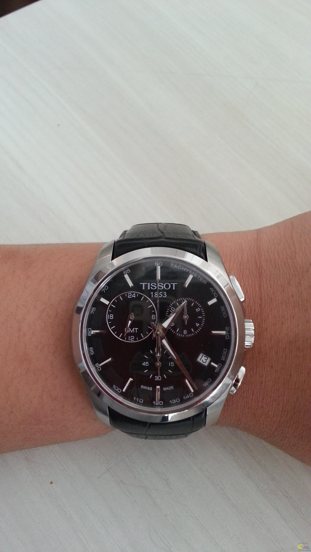 tissot chronograph quartz gmt