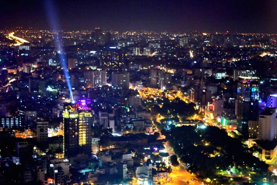 Saigon night view 2